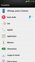 HTC One - Applications - Comment désinstaller une application - Étape 4