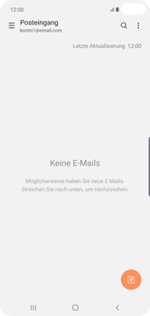 Samsung Galaxy S10 Plus - E-Mail - Manuelle Konfiguration - Schritt 5