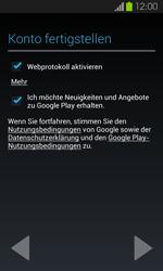 Samsung I9100 Galaxy S2 mit Android 4.1 - Apps - Konto anlegen und einrichten - Schritt 16