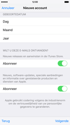 Apple iPhone 6 (iOS 9) - apps - account instellen - stap 17