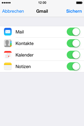 Apple iPhone 4S iOS 7 - E-Mail - 032a. Email wizard - Gmail - Schritt 10