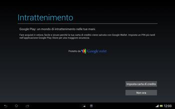 Sony Xperia Tablet Z LTE - Applicazioni - Configurazione del negozio applicazioni - Fase 23