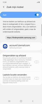 Samsung Galaxy Z Flip Single-SIM + eSIM (SM-F700F) - Beveiliging en ouderlijk toezicht - Zoek mijn mobiel inschakelen - Stap 7