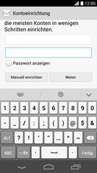 Huawei Ascend P6 LTE - E-Mail - Konto einrichten - Schritt 7