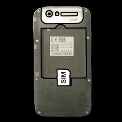 BASE Lutea 3 - SIM-Karte - Einlegen - Schritt 3