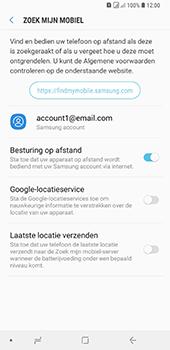 Samsung Galaxy A9 - Beveiliging en privacy - zoek mijn mobiel activeren - Stap 7