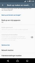 Sony F5121 Xperia X - Android Nougat - Toestel reset - terugzetten naar fabrieksinstellingen - Stap 5