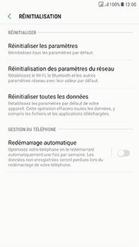 Samsung Galaxy J7 (2017) - Appareil - Réinitialisation de la configuration d