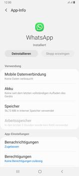 Samsung Galaxy A80 - Apps - Eine App deinstallieren - Schritt 6