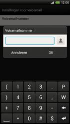 HTC S728e One X Plus - Voicemail - Handmatig instellen - Stap 7