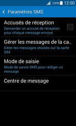 Samsung G357 Galaxy Ace 4 - SMS - Configuration manuelle - Étape 7