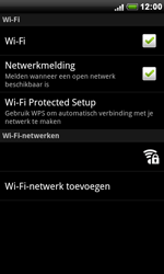 HTC S510e Desire S - wifi - handmatig instellen - stap 6
