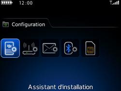 BlackBerry 9300 Curve 3G - E-mail - Configuration manuelle - Étape 4
