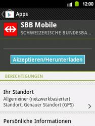 Samsung Galaxy Y - Apps - Installieren von Apps - Schritt 22