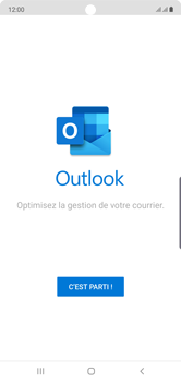 Samsung Galaxy Note 10 - E-mail - 032c. Email wizard - Outlook - Étape 5