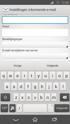 Sony D5803 Xperia Z3 Compact - E-mail - Account instellen (POP3 met SMTP-verificatie) - Stap 9