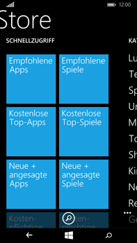 Microsoft Lumia 640 XL - Apps - Herunterladen - 5 / 17