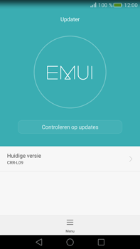 Huawei Mate S - Software updaten - Update installeren - Stap 5
