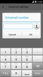 Huawei Ascend Y550 - Voicemail - Manual configuration - Step 7