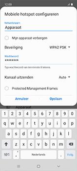 Samsung galaxy-a51-sm-a515f - WiFi - Mobiele hotspot instellen - Stap 10