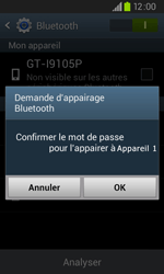 Samsung I9105P Galaxy S II Plus - Bluetooth - connexion Bluetooth - Étape 9