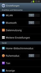 Samsung Galaxy S III LTE - Netzwerk - Manuelle Netzwerkwahl - Schritt 4