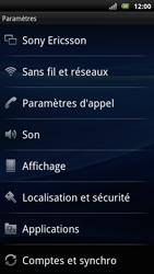 Sony Xperia Arc S - Messagerie vocale - Configuration manuelle - Étape 4