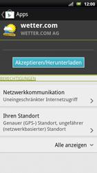 Sony Ericsson Xperia X10 - Apps - Herunterladen - Schritt 14