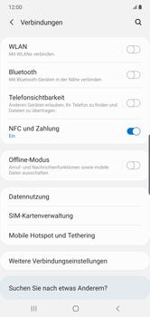 Samsung Galaxy Note 10 Plus 5G - WiFi - WiFi-Konfiguration - Schritt 5