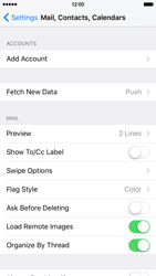 Apple iPhone 6 iOS 9 - E-mail - Manual configuration (yahoo) - Step 4