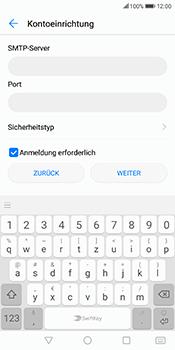 Huawei Mate 10 Lite - E-Mail - Konto einrichten - Schritt 13