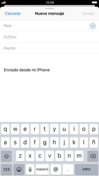 Apple iPhone 8 Plus - E-mail - Escribir y enviar un correo electrónico - Paso 4