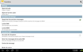 Samsung P5100 Galaxy Tab 2 10-1 - SMS - configuration manuelle - Étape 5