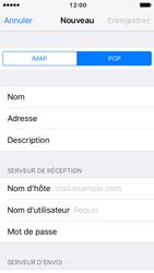 Apple iPhone 5s iOS 10 - E-mail - configuration manuelle - Étape 11