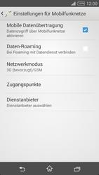 Sony D5103 Xperia T3 - Netzwerk - Netzwerkeinstellungen ändern - Schritt 8