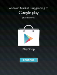 Samsung Galaxy Y - Applications - Setting up the application store - Step 16