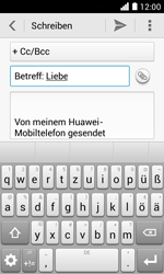 Huawei Ascend Y330 - E-Mail - E-Mail versenden - 9 / 16