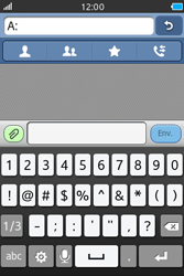 Samsung Wave M - Contact, Appels, SMS/MMS - Envoyer un SMS - Étape 4