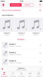 Apple iPhone 6s - Photos, vidéos, musique - Ecouter de la musique - Étape 3