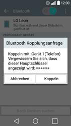 LG Leon - Bluetooth - Geräte koppeln - Schritt 9