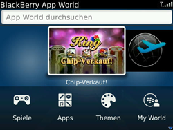 BlackBerry Bold - Apps - Herunterladen - 2 / 2