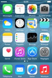 Apple iPhone 4S (iOS 8) - Photos, vidéos, musique - Ecouter de la musique - Étape 2