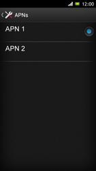 Sony Xperia J - MMS - Manuelle Konfiguration - Schritt 15