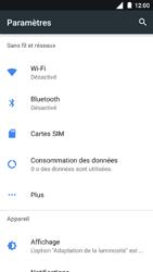 Nokia 3 - Internet et roaming de données - Désactivation du roaming de données - Étape 4