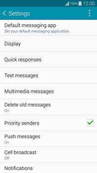 Samsung N910F Galaxy Note 4 - SMS - Manual configuration - Step 6
