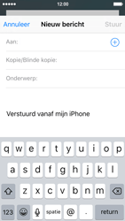 Apple iPhone 5 (iOS 9) - e-mail - hoe te versturen - stap 4