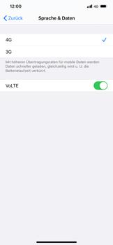Apple iPhone 11 - iOS 14 - Netzwerk - So aktivieren Sie eine 4G-Verbindung - Schritt 7