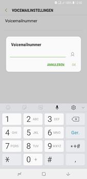 Samsung Galaxy A6 Plus - voicemail - handmatig instellen - stap 10
