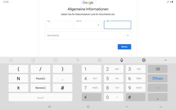 Samsung Galaxy Tab S7 - Apps - Einrichten des App Stores - Schritt 9
