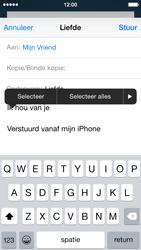 Apple iPhone 5c iOS 8 - E-mail - Bericht met attachment versturen - Stap 9